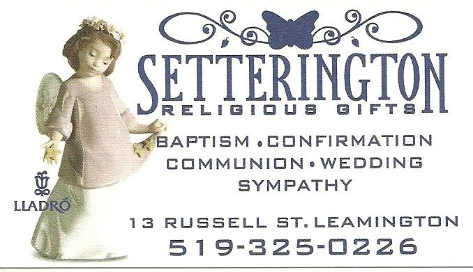 Setterington Religious Gifts